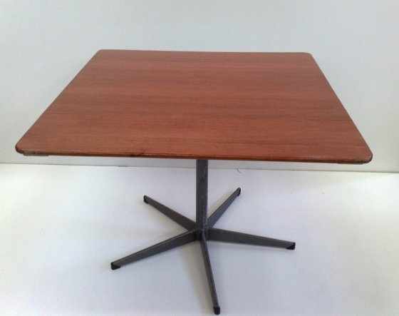 1m Square Red Wood Cafe Table Melbourne Table Amp Chair