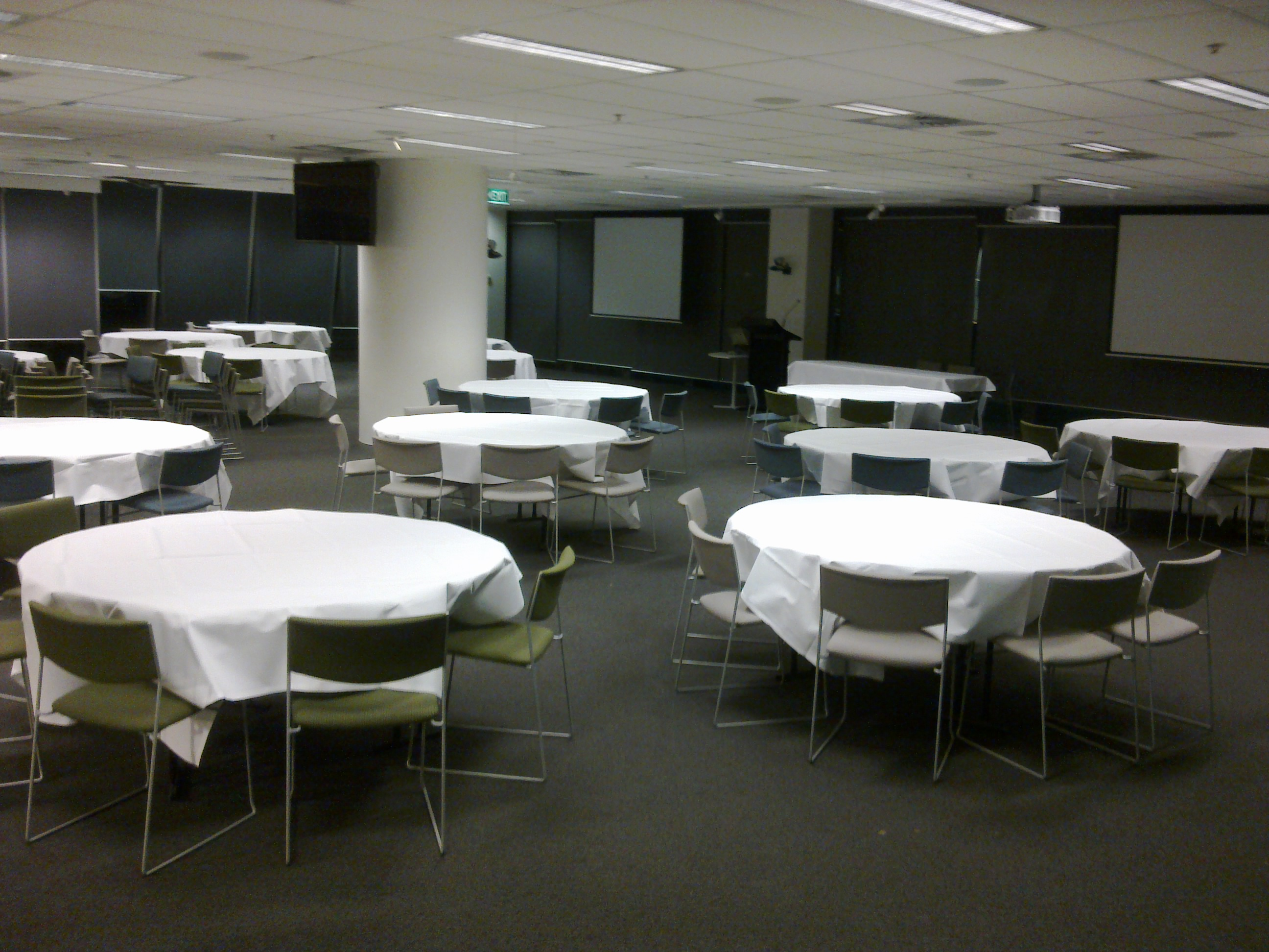 1 65m Laminated Round Table Melbourne Table Amp Chair Hire